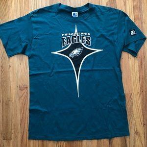 Philadelphia Eagles Vintage Starter T Shirt 90s